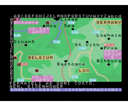 La Battaglia delle Ardenne (MSX, Philips Italy)