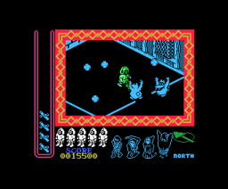Night Shade (1986, MSX, Ultimate Play The Game)
