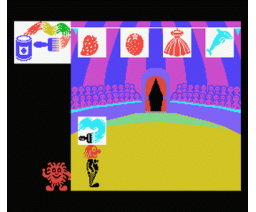 El Payaso Explorador 2 - Identificación de Colores (1986, MSX, Anaya Multimedia)