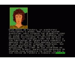 Dragonworld (1986, MSX2, Telarium)