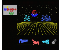 El Pescador Espacial 2 - Alto Largo - Bajo Corto (1986, MSX, Anaya Multimedia)