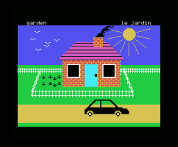 French is Fun (1984, MSX, CDS Software)