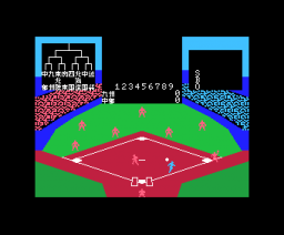 Exciting Baseball (1984, MSX, Casio)