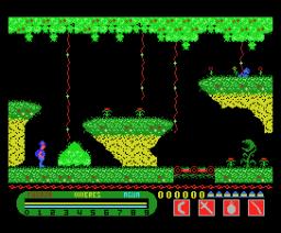 Livingstone Supongo (1986, MSX, Opera Soft)