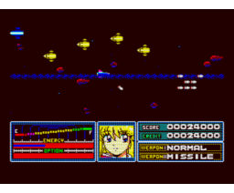 The Fighting Sailor Fuku! (1990, MSX2, MSX2+, Turbo-R, Cocktail Soft)