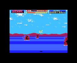 Vaxol (1987, MSX, MSX2, Heart Soft)