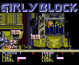 Girly Block (1987, MSX2, The Links (Japanese tele network))