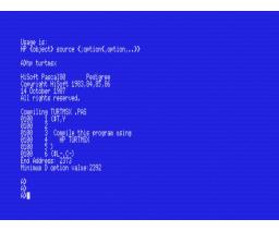 Pascal 80 (1986, MSX, Hisoft)
