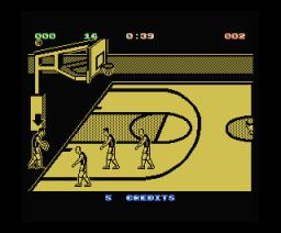 Magic Johnson's Basketball (1990, MSX, New Frontier)