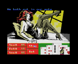 Playhouse Strippoker (1988, MSX, Eurosoft)
