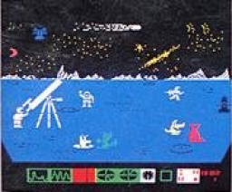 Space Kit (1986, MSX, Joyce Hakkanson Associates)