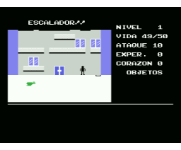 Escalador (1985, MSX, EMSA)