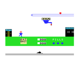 El Tragamanzanas (1985, MSX, Monser)