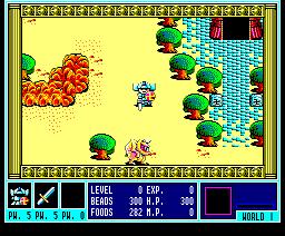 Gandhara (1988, MSX2, ENIX)