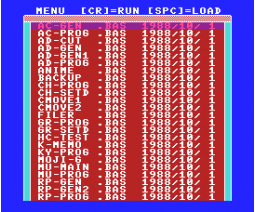 Game Programming Tool Exclusively for HB-F1XDJ (1988, MSX2+, Turbo-R, Sony, HAL Laboratory)