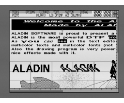 Aladin (1992, MSX2, Aladin Software)