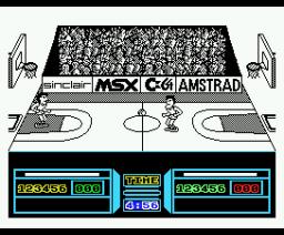 Fernando Martín Basket Master (1986, MSX, Dinamic)