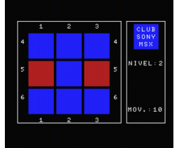 Cubo Magico (1985, MSX, Club Sony MSX)