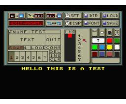Video-Textstar (1987, MSX2, Data Beutner)