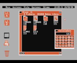 EGOS (1986, MSX2, Opera Soft)