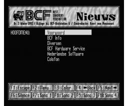 BCF Disk Station #6 (1991, MSX2, MSX2+, Turbo-R, BCF)