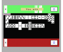 Dominoes (1986, MSX, Microteknix)