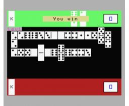Dominoes (1986, MSX, Microteknix)