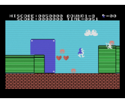 Super Penguin (MSX, SIECO)