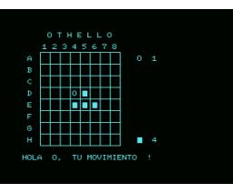 Othello (MSX, Nicolás Wadham Lasarte)