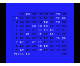 Holland Bingo (1987, MSX, Reveal Automation)