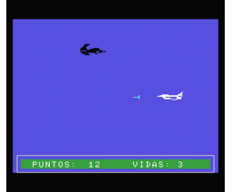 F-16 / VG-Estrella (1985, MSX, Monser)