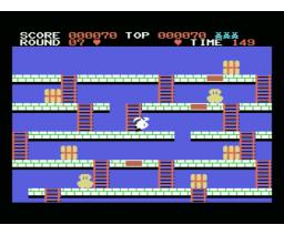Tensai Rabbian Daifunsen (1986, MSX, Soft Pro)
