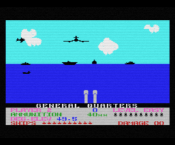 Beach-Head (1985, MSX, Access Software)