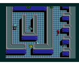 Starship Rendezvous (1988, MSX2, MSX2+, Scaptrust)
