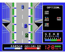 A1 Grand Prix (1987, MSX, Konami)