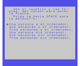 Juegos de inteligencia (1985, MSX, Ace Software S.A.)