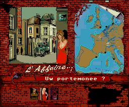 L'Affaire... (1986, MSX2, Infogrames)