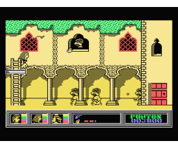 Misterio del Nilo, El (1987, MSX, Made in Spain)