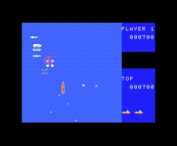 D-Day (1984, MSX, Jaleco)