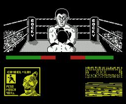 Rocky (1985, MSX, MSX2, Dinamic)