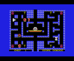 Captain Chef (1984, MSX, Nippon Columbia)