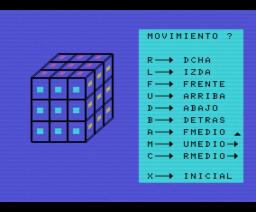 Cubik (1985, MSX, Juan Carlos Sacristan)