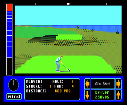 Jack Nicklaus Championship Golf (1990, MSX2, Accolade)