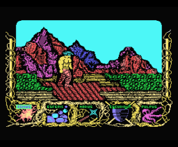 Power and Magic (1990, MSX, Gamesoft)