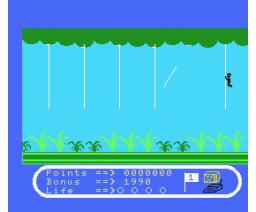 Jungle Jim (1984, MSX, Bernd Jöllenbeck GMBH)