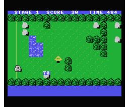 Rocky Rock (1986, MSX, Grupo de Trabajo Software (G.T.S.))