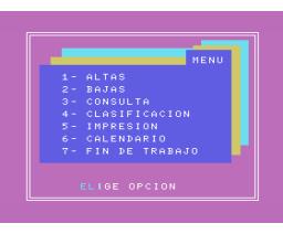 Ficheros domésticos (1985, MSX, Ace Software S.A.)