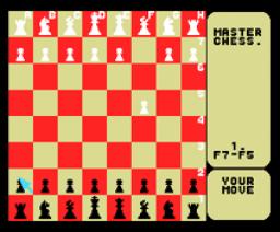 Master Chess (1987, MSX, Mastertronic)
