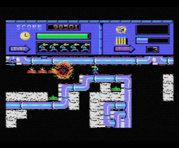 Blow Up! (1987, MSX, Eurosoft)