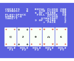 Poker (MSX, Unknown)